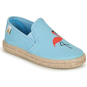 鞋子 女孩 平底鞋 Citrouille et Compagnie OSARA 蓝色 / 天蓝