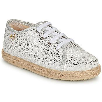 鞋子 女孩 球鞋基本款 Citrouille et Compagnie OKOKI 银色