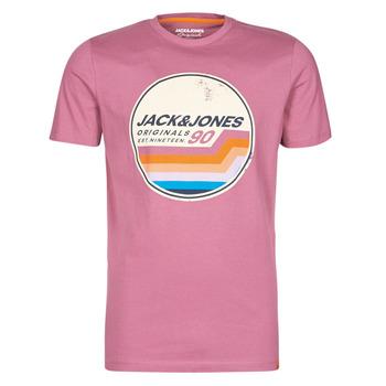 衣服 男士 短袖体恤 Jack & Jones 杰克琼斯 JORTYLER 玫瑰色