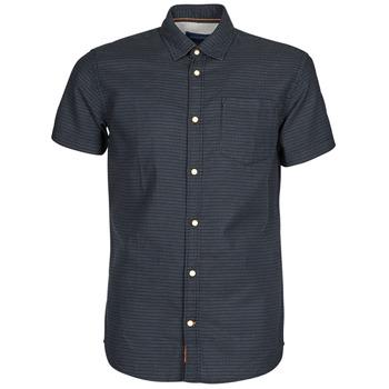 衣服 男士 短袖衬衫 Jack & Jones 杰克琼斯 JORABEL 海蓝色