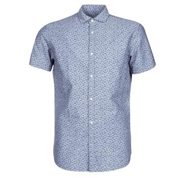 衣服 男士 短袖衬衫 Jack & Jones 杰克琼斯 JPRBLASUMMER 蓝色