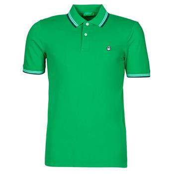衣服 男士 短袖保罗衫 Benetton 3WG9J3181-108 绿色