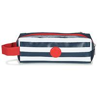 包 男孩 笔袋 Citrouille et Compagnie CITELLE 海蓝色 / 白色 / 红色