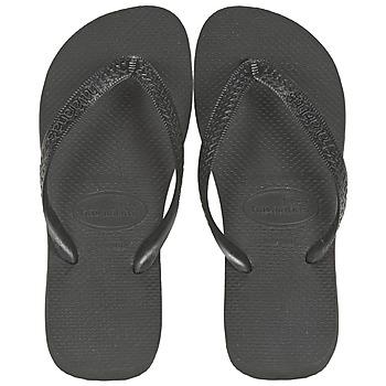 鞋子 人字拖 Havaianas 哈瓦那 TOP 黑色