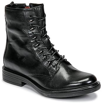 鞋子 女士 短筒靴 Mjus CAFE 黑色