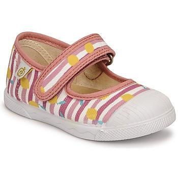 鞋子 女孩 平底鞋 Citrouille et Compagnie APSUT 玫瑰色 / 印花
