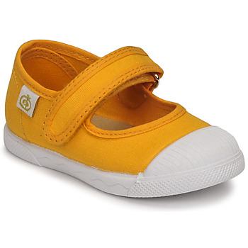 鞋子 女孩 平底鞋 Citrouille et Compagnie APSUT 黄色