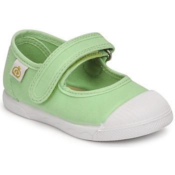 鞋子 女孩 平底鞋 Citrouille et Compagnie APSUT 浅黄绿色