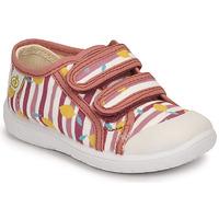 鞋子 女孩 球鞋基本款 Citrouille et Compagnie GLASSIA 玫瑰色 / 印花