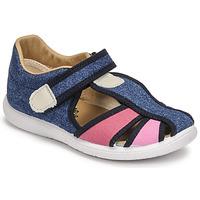 鞋子 女孩 凉鞋 Citrouille et Compagnie GUNCAL 蓝色 / 牛仔