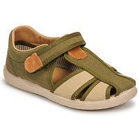 鞋子 男孩 凉鞋 Citrouille et Compagnie GUNCAL 卡其色