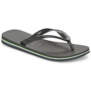 鞋子 人字拖 Havaianas 哈瓦那 BRASIL 黑色