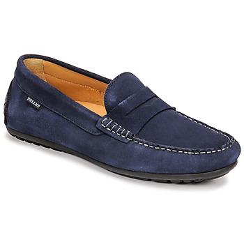 鞋子 男士 皮便鞋 Christian Pellet Cador 蓝色