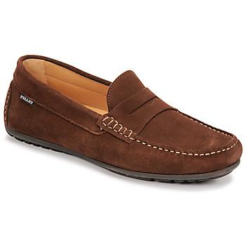 鞋子 男士 皮便鞋 Pellet Cador 棕色
