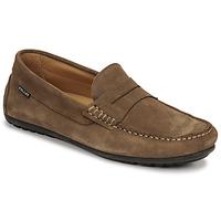鞋子 男士 皮便鞋 Christian Pellet Cador 灰褐色