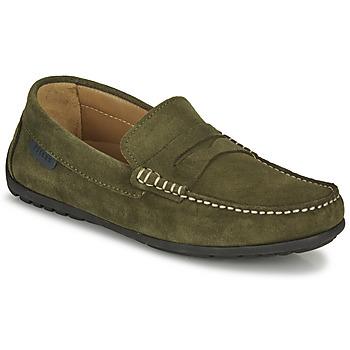 鞋子 男士 皮便鞋 Christian Pellet Cador 卡其色