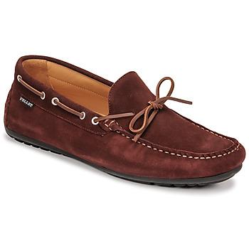 鞋子 男士 皮便鞋 Christian Pellet Nere 波尔多红