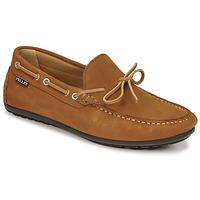 鞋子 男士 皮便鞋 Pellet Nere 棕色