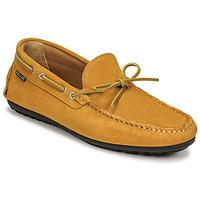 鞋子 男士 皮便鞋 Pellet Nere 黄色