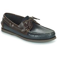 鞋子 女孩 平底鞋 Pellet Vendée 蓝色 / 棕色