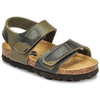 鞋子 男孩 凉鞋 Citrouille et Compagnie BELLI JOE 迷彩