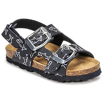 鞋子 男孩 凉鞋 Citrouille et Compagnie KELATU 海蓝色 / 印花