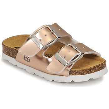 鞋子 女孩 休闲凉拖/沙滩鞋 Citrouille et Compagnie MISTINGUETTE 古銅色