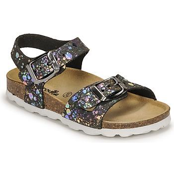 鞋子 女孩 凉鞋 Citrouille et Compagnie RELUNE 黑色