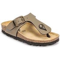 鞋子 男孩 休闲凉拖/沙滩鞋 Citrouille et Compagnie OKOKO 卡其色