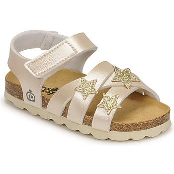 鞋子 女孩 凉鞋 Citrouille et Compagnie OKILIA 金色