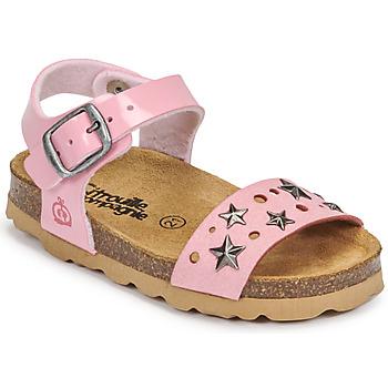 鞋子 女孩 凉鞋 Citrouille et Compagnie IHITO 玫瑰色