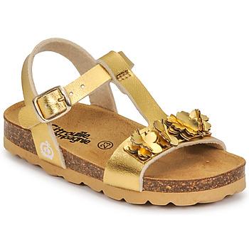 鞋子 女孩 凉鞋 Citrouille et Compagnie KAPIBA 金色