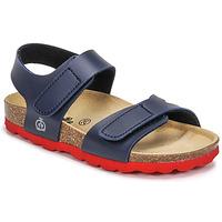 鞋子 男孩 凉鞋 Citrouille et Compagnie BELLI JOE 海蓝色 / 红色