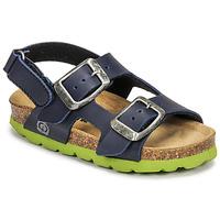鞋子 男孩 凉鞋 Citrouille et Compagnie KELATU 海蓝色