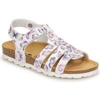 鞋子 女孩 凉鞋 Citrouille et Compagnie MALIA 白色 / 印花