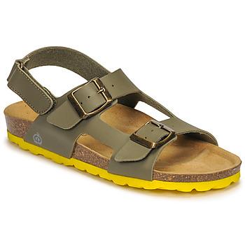 鞋子 男孩 凉鞋 Citrouille et Compagnie KELATU 卡其色