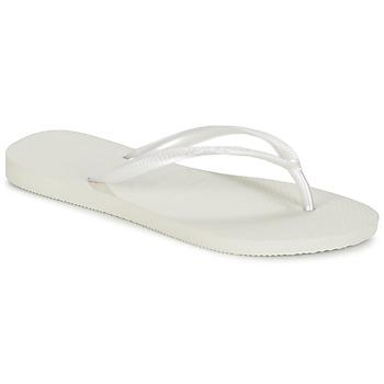 鞋子 女士 人字拖 Havaianas 哈瓦那 SLIM 白色