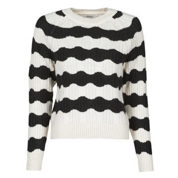 衣服 女士 羊毛衫 Only ONLKAITLIN 黑色 / 白色
