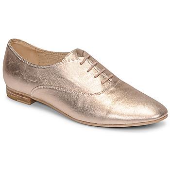 鞋子 女士 系带短筒靴 JB Martin CLAP 金属银 / 裸色
