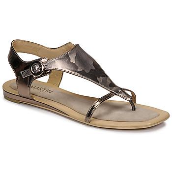 鞋子 女士 凉鞋 JB Martin ARMOR 灰色 / 银灰色