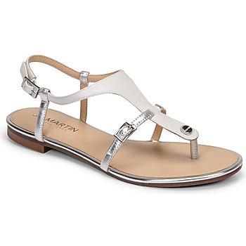 鞋子 女士 凉鞋 JB Martin GAELIA E20 白色 / 银色