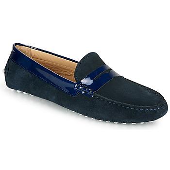 鞋子 女士 皮便鞋 JB Martin TABATA 海蓝色