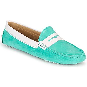 鞋子 女士 皮便鞋 JB Martin TABATA 天蓝色