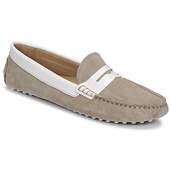 鞋子 女士 皮便鞋 JB Martin TABATA 亚麻色