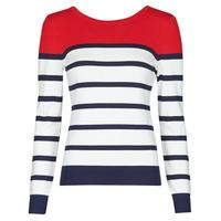 衣服 女士 羊毛衫 Betty London ORALI 红色 / 浅米色