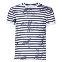 衣服 男士 短袖体恤 Yurban OLORD 海蓝色 / 白色