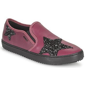鞋子 女孩 球鞋基本款 Geox 健乐士 J KALISPERA FILLE 紫罗兰