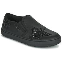 鞋子 女孩 球鞋基本款 Geox 健乐士 J KALISPERA FILLE 黑色