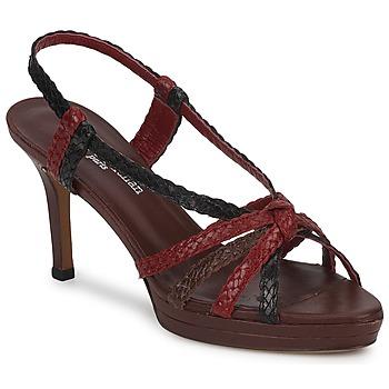 鞋子 女士 凉鞋 Stéphane Kelian PRISCILLE 棕色 / 波尔多红