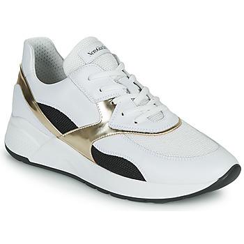 鞋子 女士 球鞋基本款 Nero Giardini FILOMENE 白色 / 黑色 / 金色